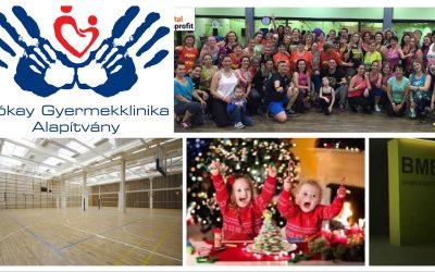 Jótékonysági Zumba a Bókay Gyermekklinikáért Alapítvány javára