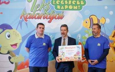 Az I. Sz. Bókay Gyermekklinika alapítványa 10.000.000,- Ft adományt kapott az MVM Csoporttól