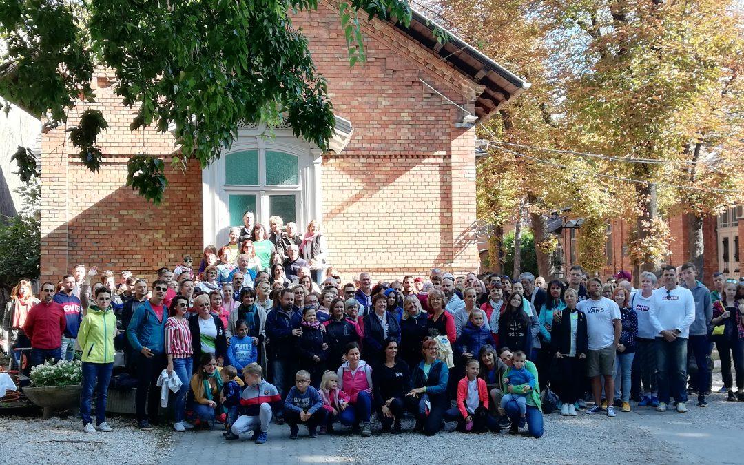 10 000 lépés-jótékonysági séta a Bókay Gyermekklinika betegeiért