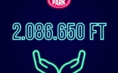 Több mint 2 millió Forint gyűlt össze alapítványunk számára a Budapest Park decemberi kampányában