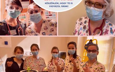 Köszönjük! – videó az I. Sz. Bókay Gyermekklinika munkatársaitól